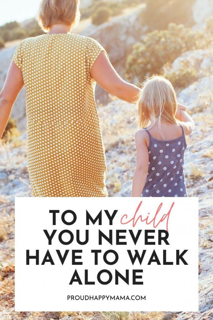 Walk Beside Child