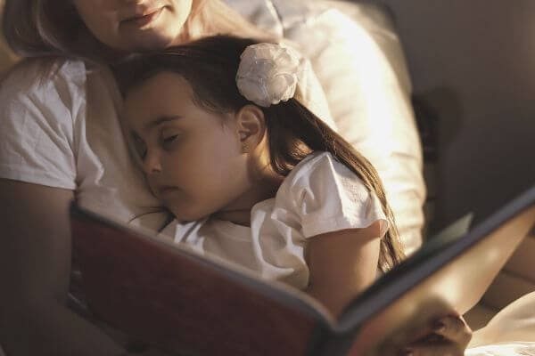 Bedtime Routine | To My Child: I will lay with you all night as long as you need.