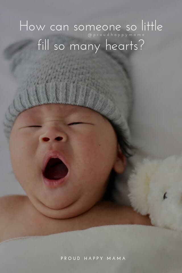 New Mommy Quotes | How can someone so little fill so many hearts?