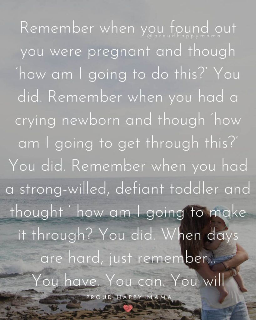 Motherhood Is Hard | Remember when you found out you were pregnant and though 'how am I going to do this?'