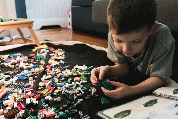 Family Evening Activities   Lego Building Challenge