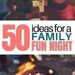 Family Fun Night   50+ Family Fun Night Ideas The Whole Family Will Love {+ PRINTABLE}