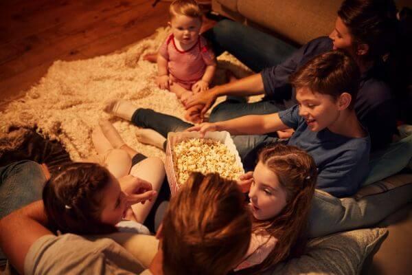 Family Movie Night Movie Ideas   50+ Family Fun Night Ideas The Whole Family Will Love