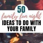 Fun Family Games   50+ Family Fun Night Ideas The Whole Family Will Love {+ PRINTABLE}