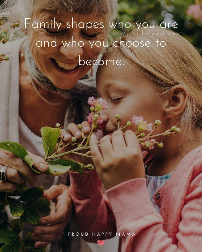 Love Family Quotes | Family shapes who you are and who you choose to become.