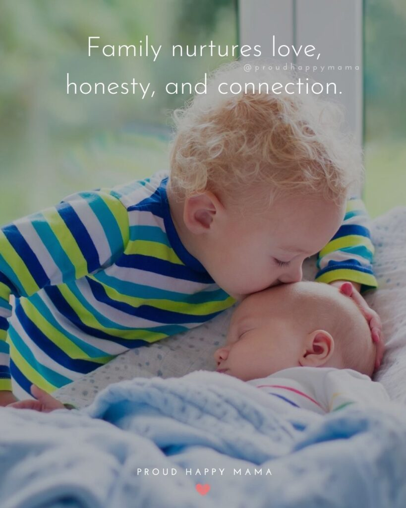 Love Of The Family Quotes | Family nurtures love, honesty, and connection.