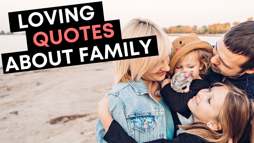 Loving Quotes About Family - YouTube Cover