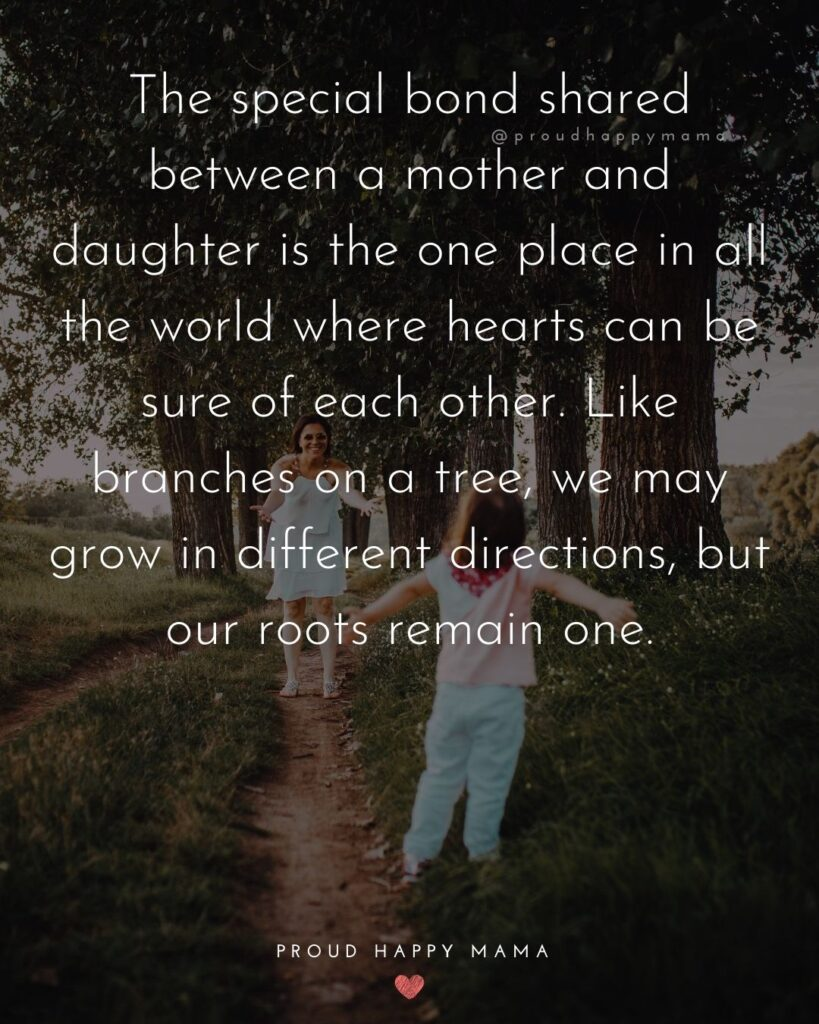 Mother Daughter Quotes - The special bond shared between a mother and daughter is the one place in all the world where hearts can be