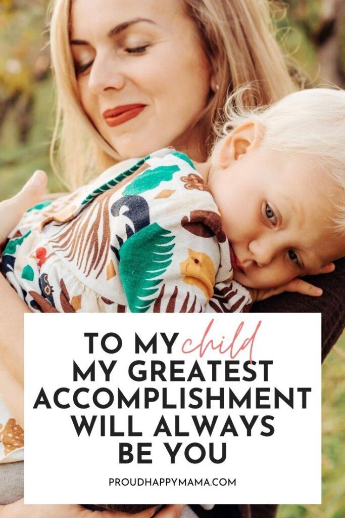 My Greatest Accomplishment