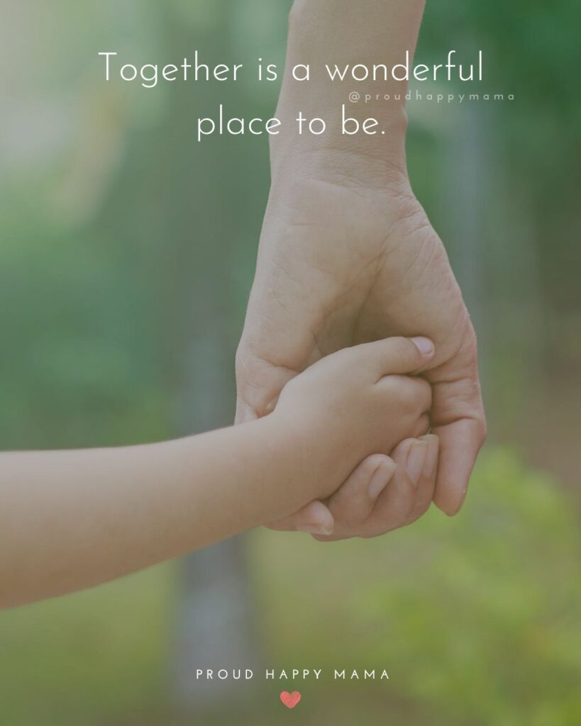 Quotes On Family | Together is a wonderful place to be.