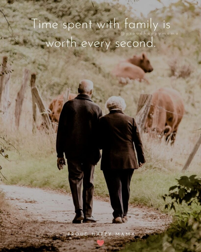 Quotes On Loving Family | Time spent with family is worth every second.