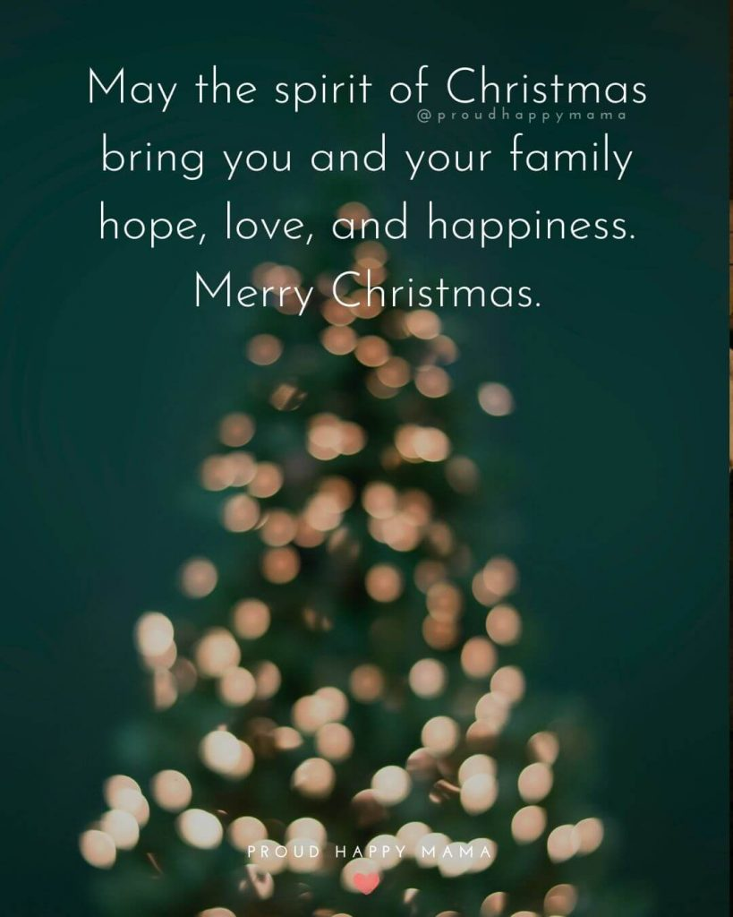 20+ Merry Christmas Family Quotes And Sayings With Images