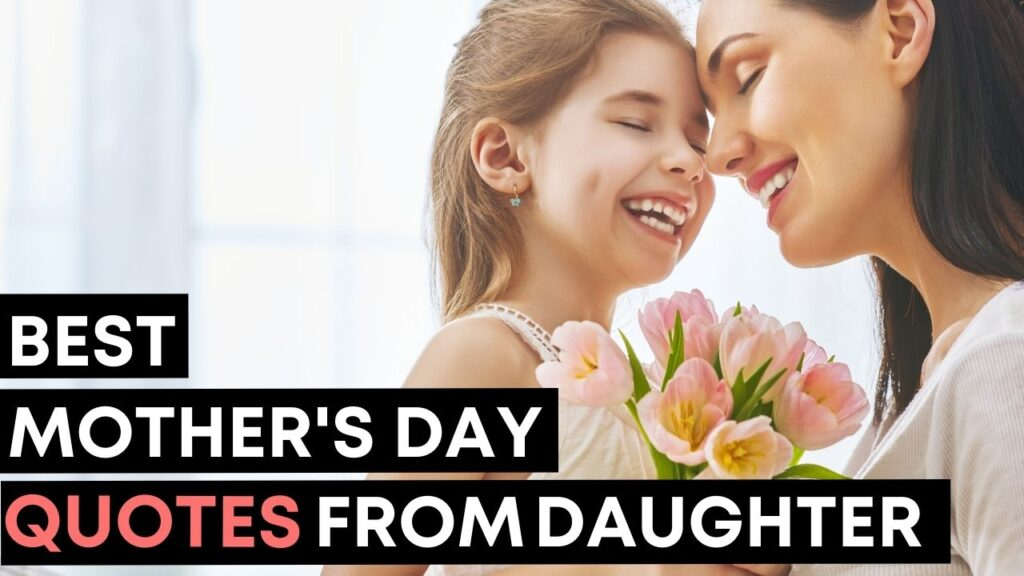 Best Mothers Day Quotes From Daughter - YouTube Video Cover