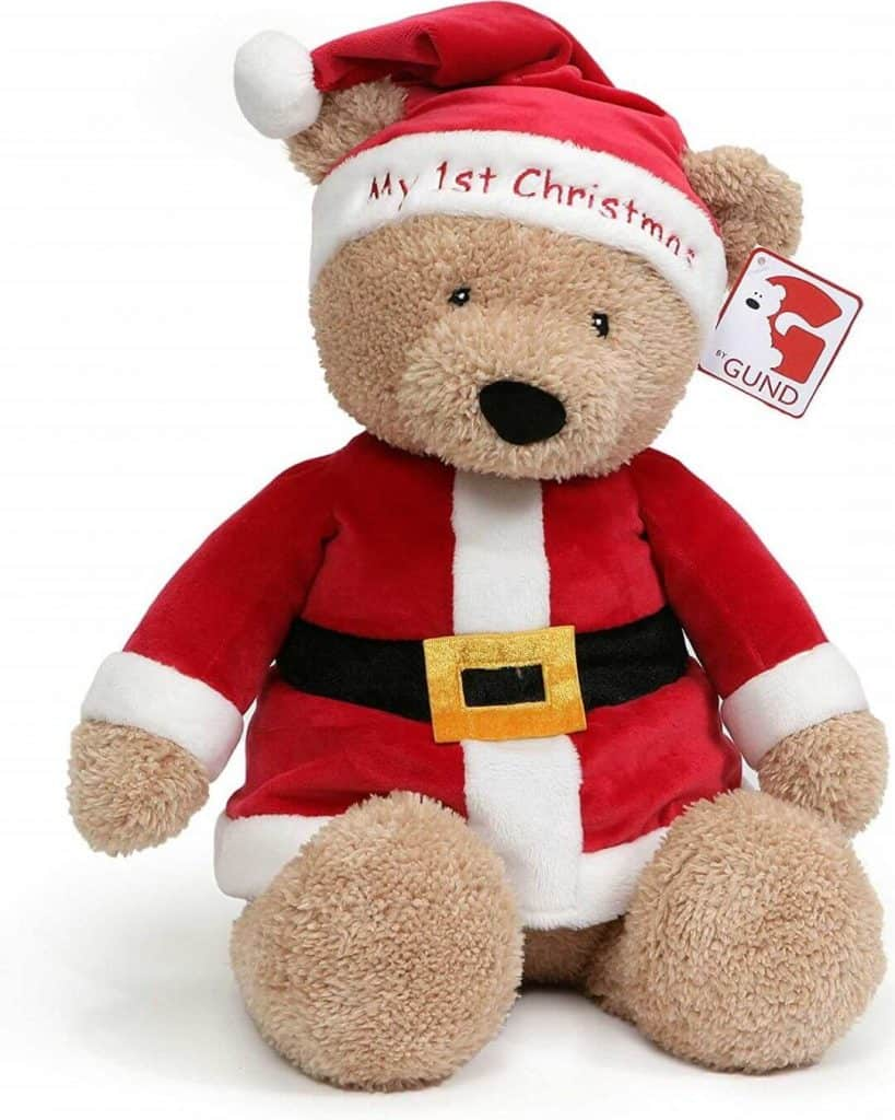 Christmas Plush Toy | Best Baby Christmas Gifts For Baby's First Christmas