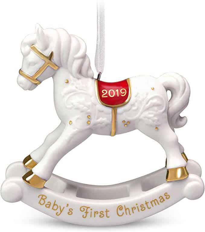 First Christmas Ornament | Best Baby Christmas Gifts For Baby's First Christmas
