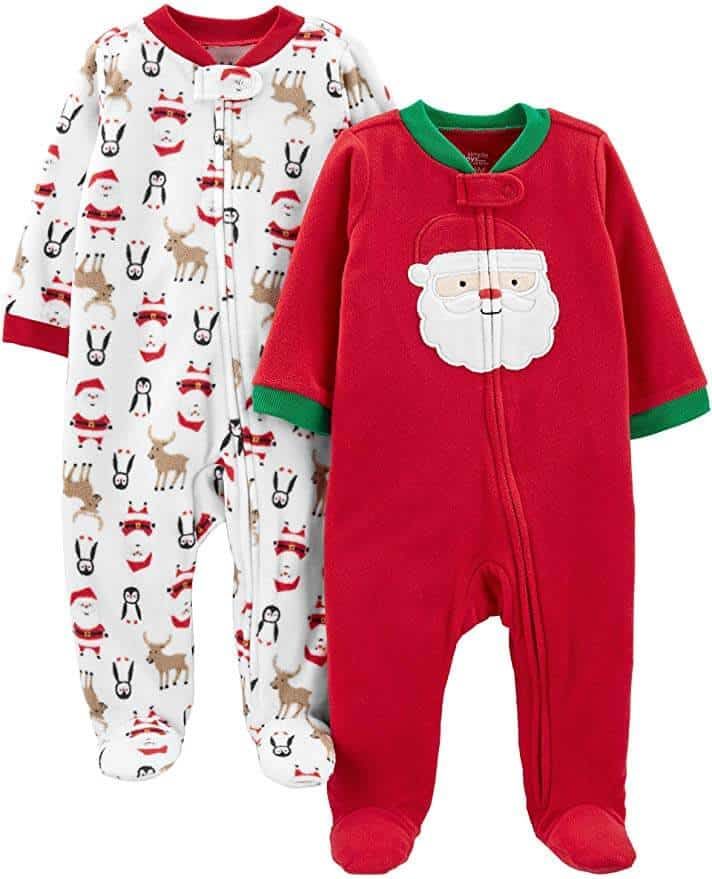 First Christmas Pajamas | Best Baby Christmas Gifts For Baby's First Christmas