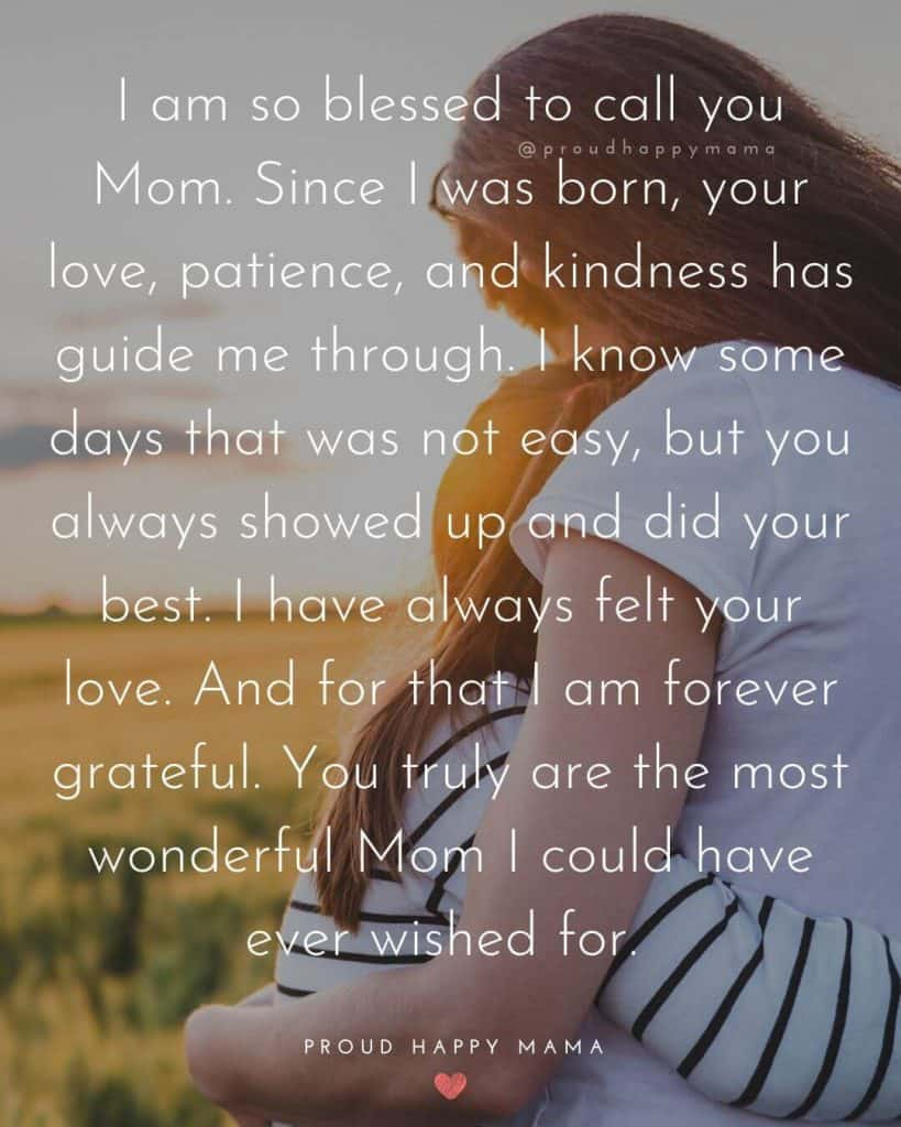 25 Happy Mother S Day Quotes From Daughter To Mother Etandoz