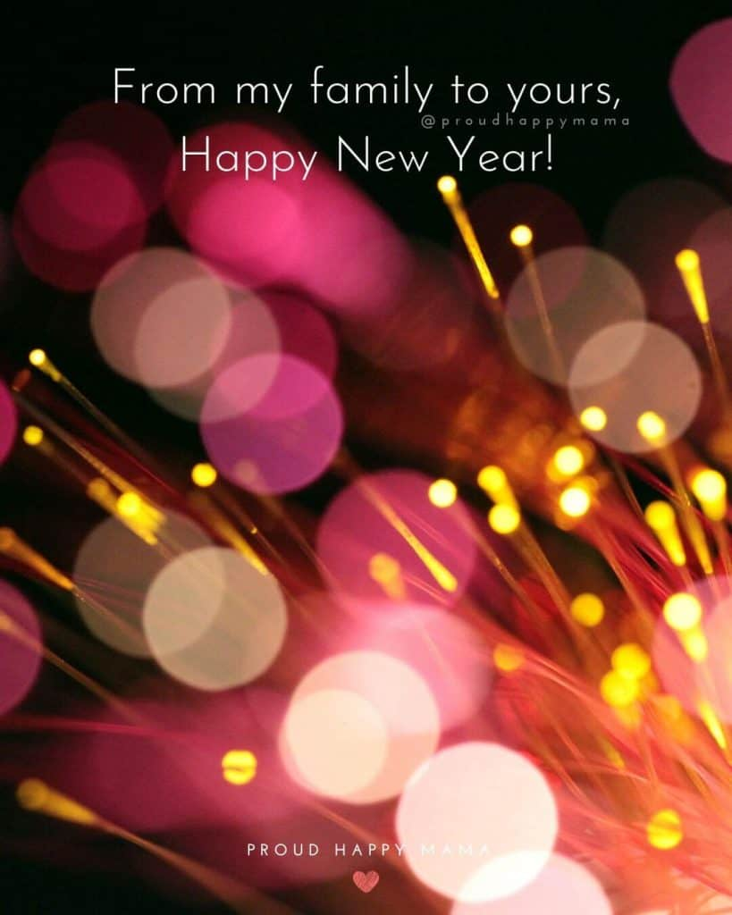 25+ Happy New Year Wishes For Friends And Family With Images