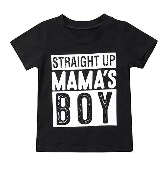 Just A Boy In Love With His Mama - Mamas Boy TShirt