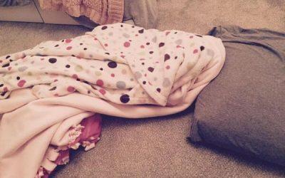 I Slept on My Teenage Daughter's Bedroom Floor Last Night