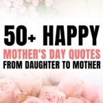 mothers day quotes from daughter short love you