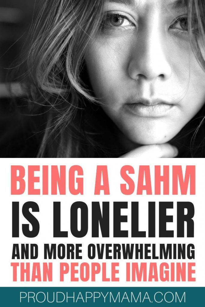 Being A SAHM Is Lonely