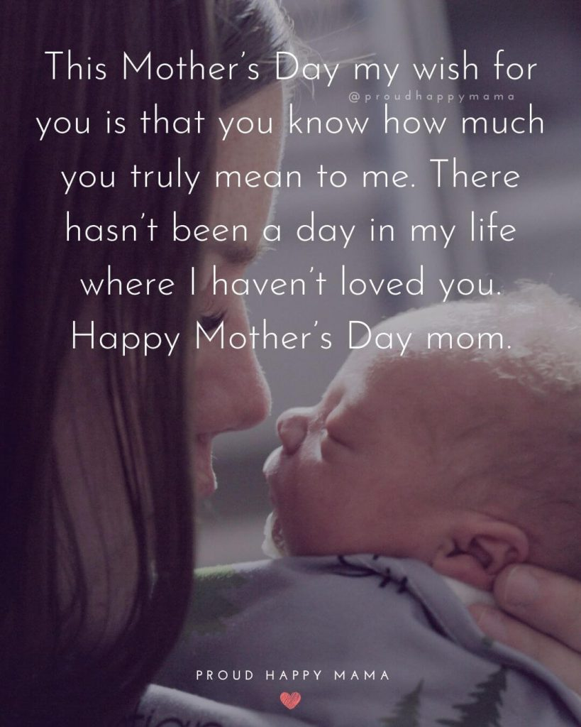 25 Best Happy Mother S Day Quotes From Son
