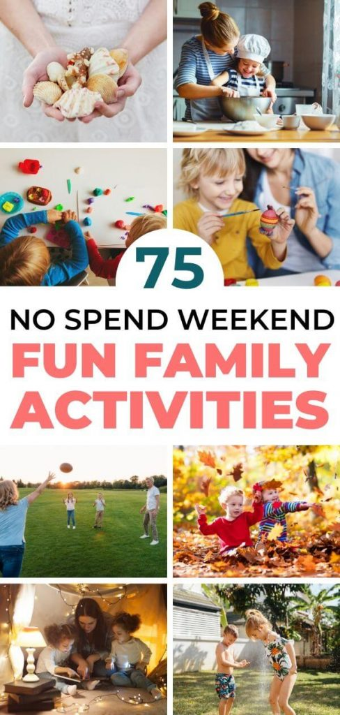 No Spend Weekend Ideas