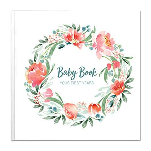 Baby Memory Book for Girls by Peachly