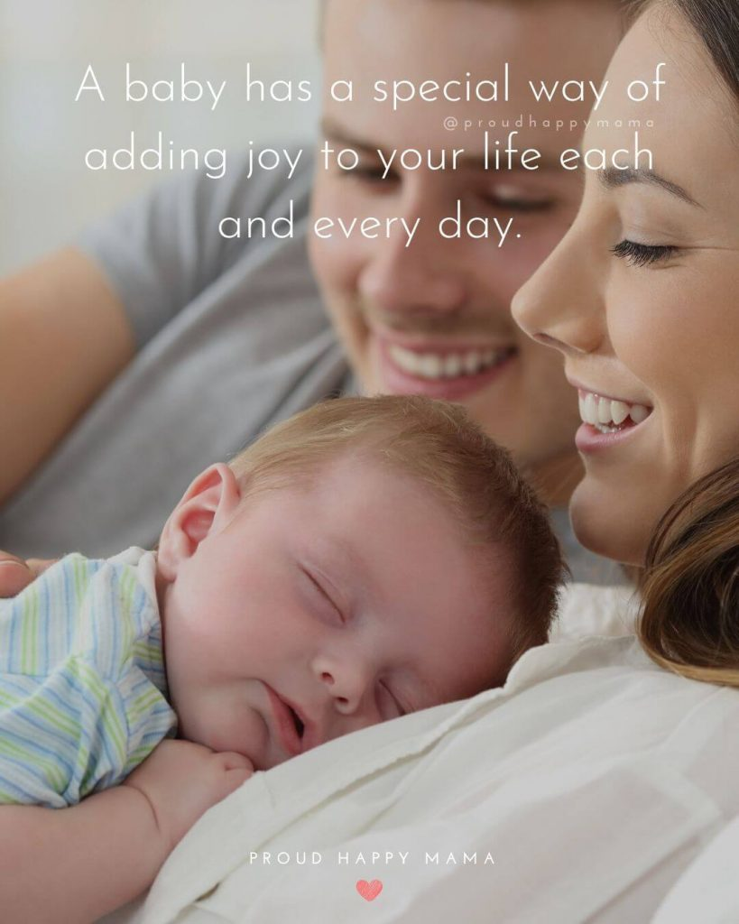 Baby Wishes Card | A baby has a special way of adding joy to your life each and every day.