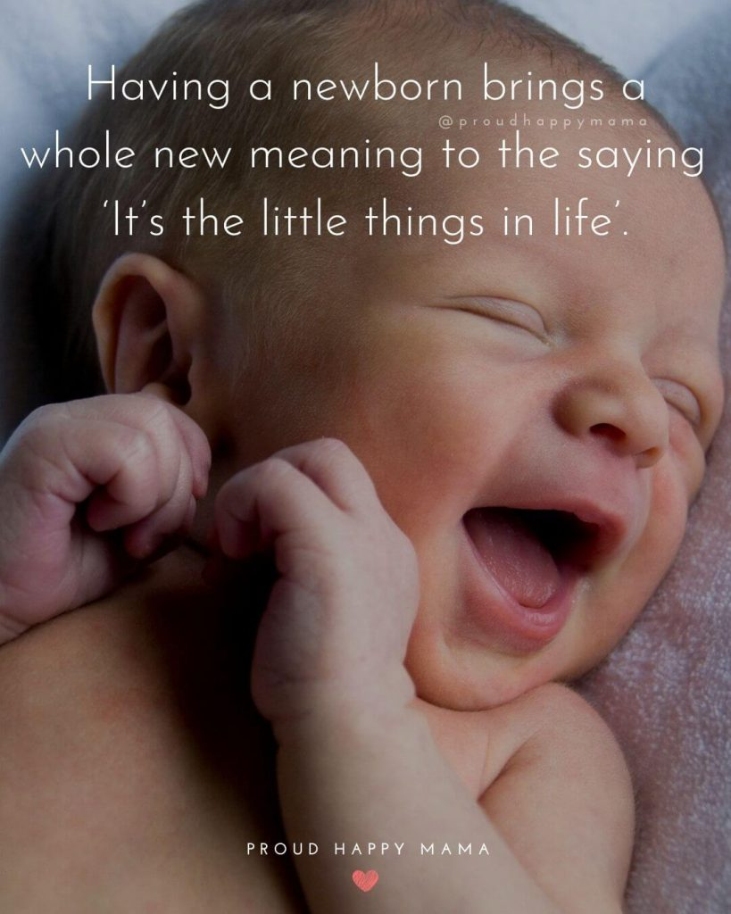 Words Of Wisdom For New Parents | Having a newborn brings a whole new meaning to the saying 'It's the little things in life'.