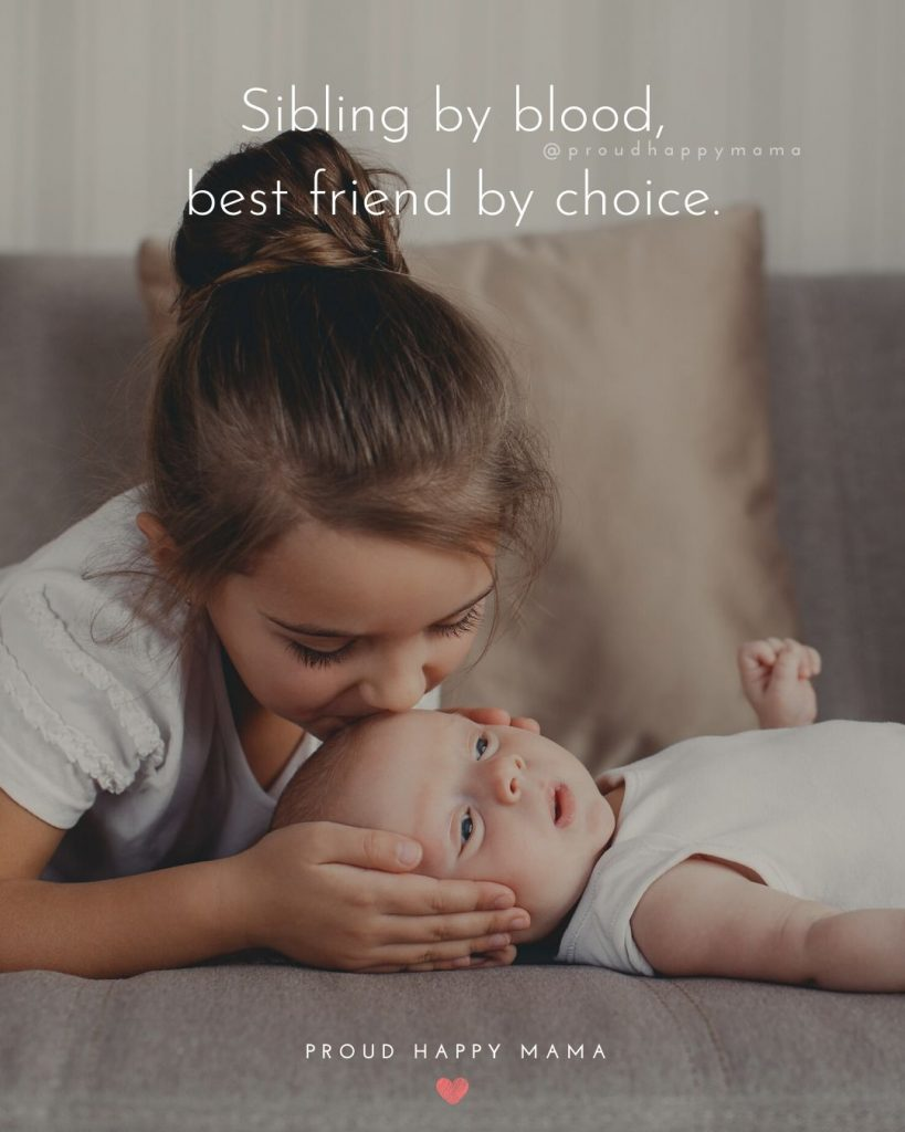 Sister Relationship Quotes | Sibling by blood, best friend by choice.