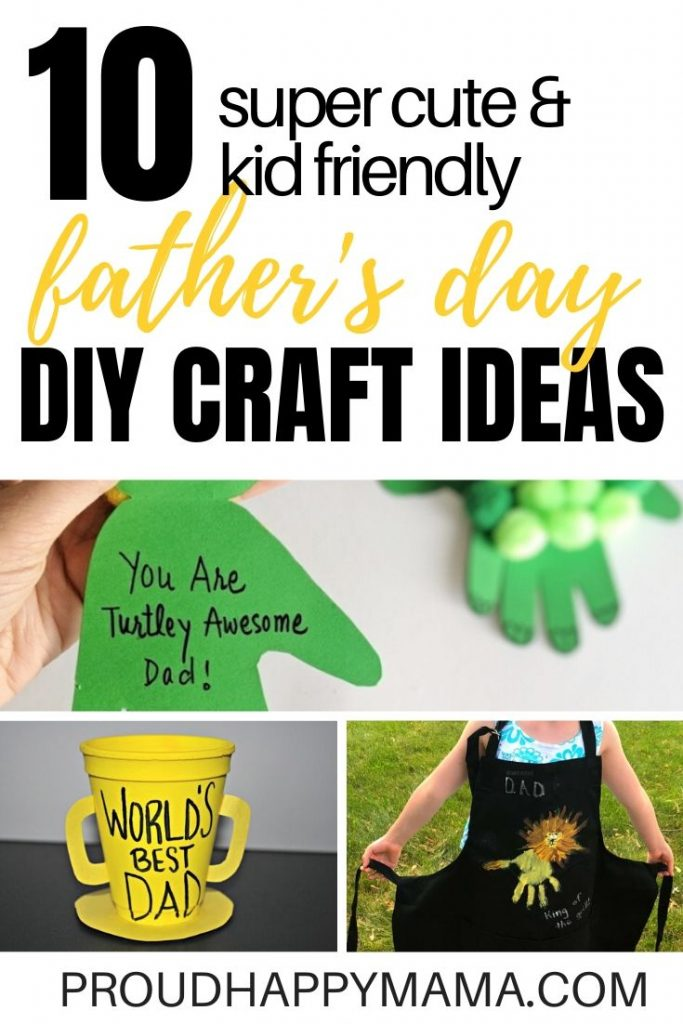 DIY Fathers Day Crafts