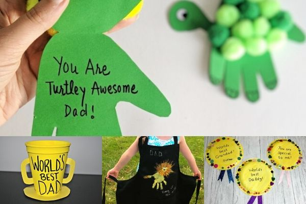Easy Fathers Day Crafts For Toddlers