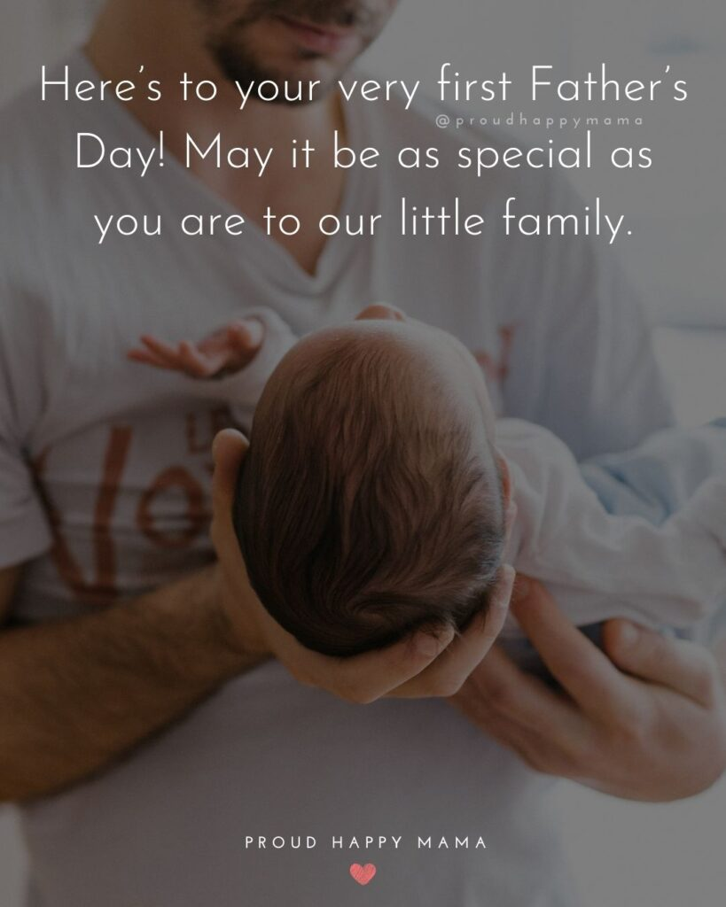 Happy First Fathers Day Quotes - Watching you become a father has been one of the inspiring and joy filling moments in my life.