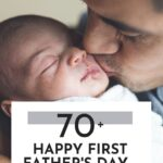 happy first Fathers Day message