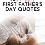 happy first Fathers Day to my husband quote