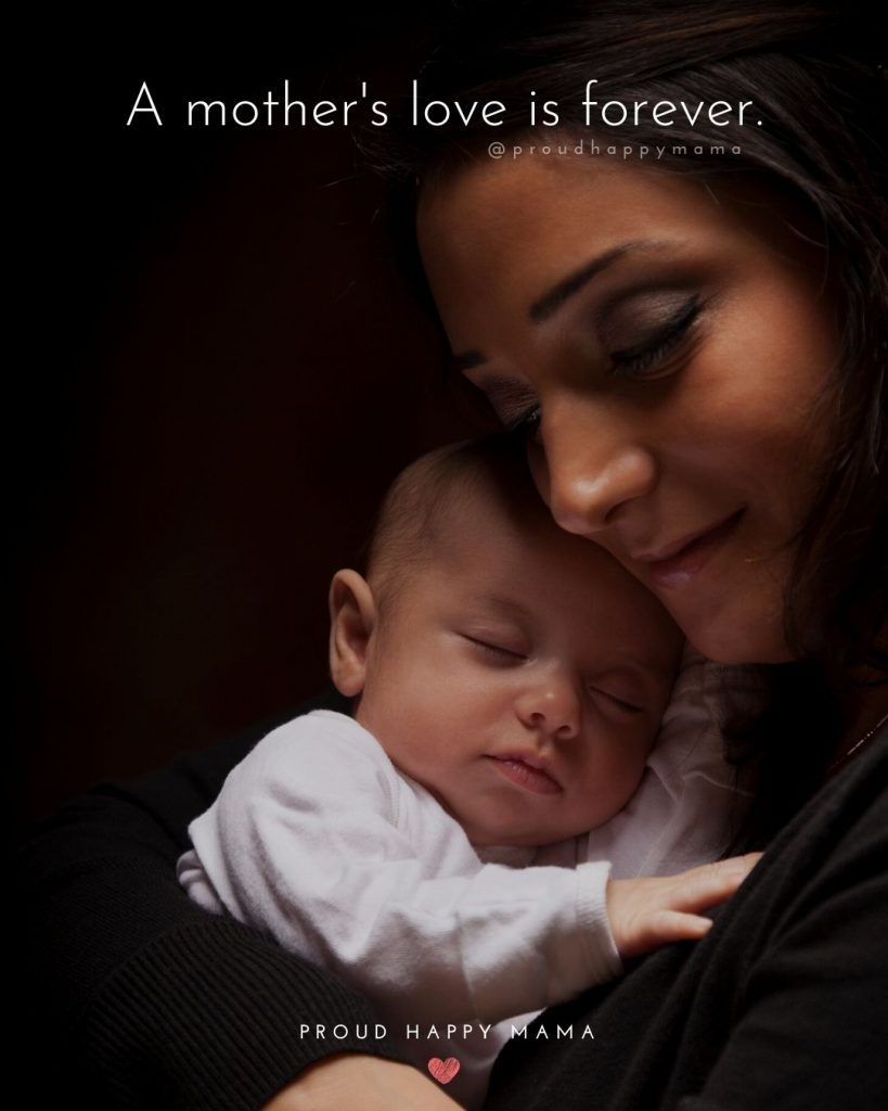 Mother Love Quotes | A mother's love is forever.