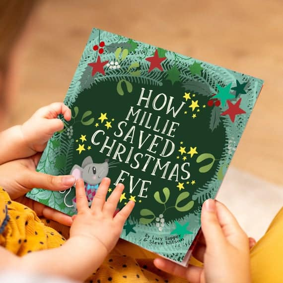Personalized Christmas Eve Book