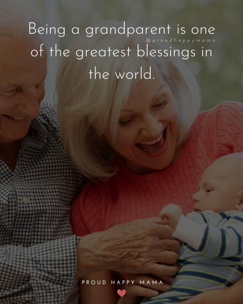 Granddaughter To Grandma Quotes | Being a grandparent is one of the greatest blessings in the world.