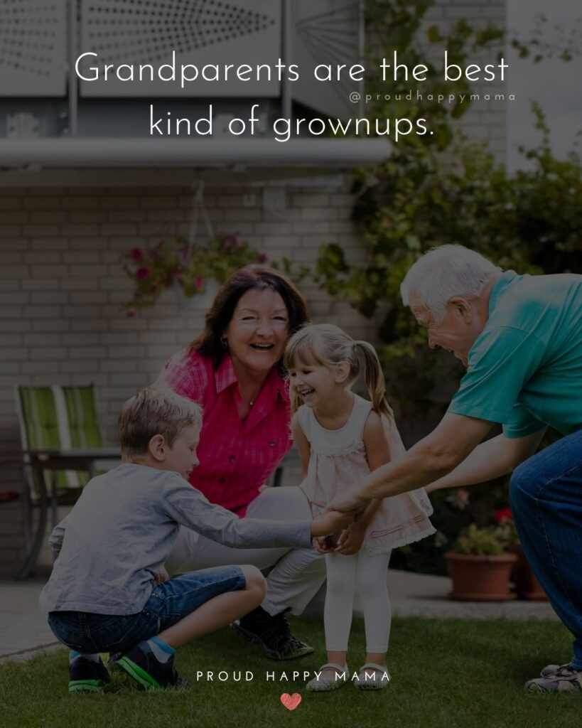 Grandparents Quotes Short | Grandparents are the best kind of grownups.