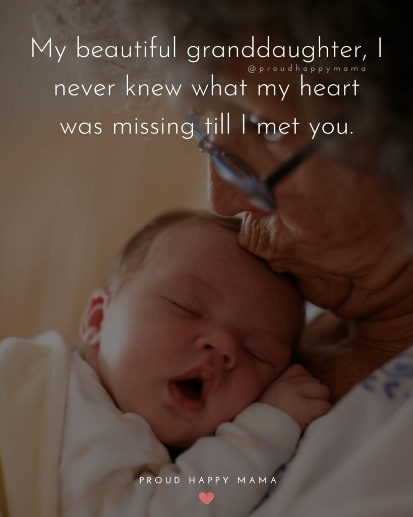 Granddaughter Quotes - What an honor it is to be given a precious granddaughter like you.'