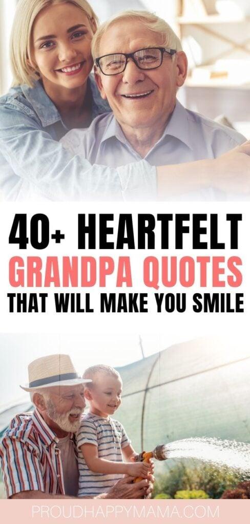 Grandpa Sayings
