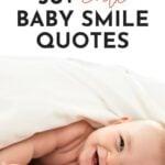 Happy Baby Quotes Smile