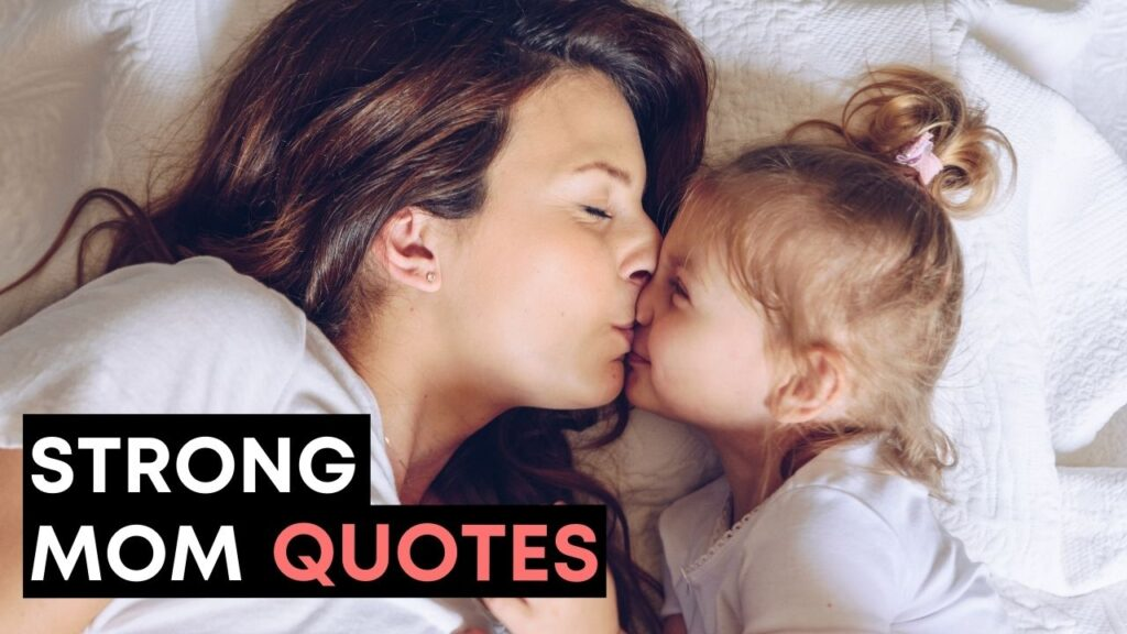 Strong Mom Quotes - YouTube Video Cover