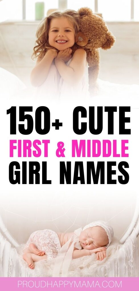 Unique Baby Girl Middle Names