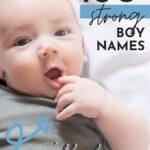 Baby Names Strong Boys