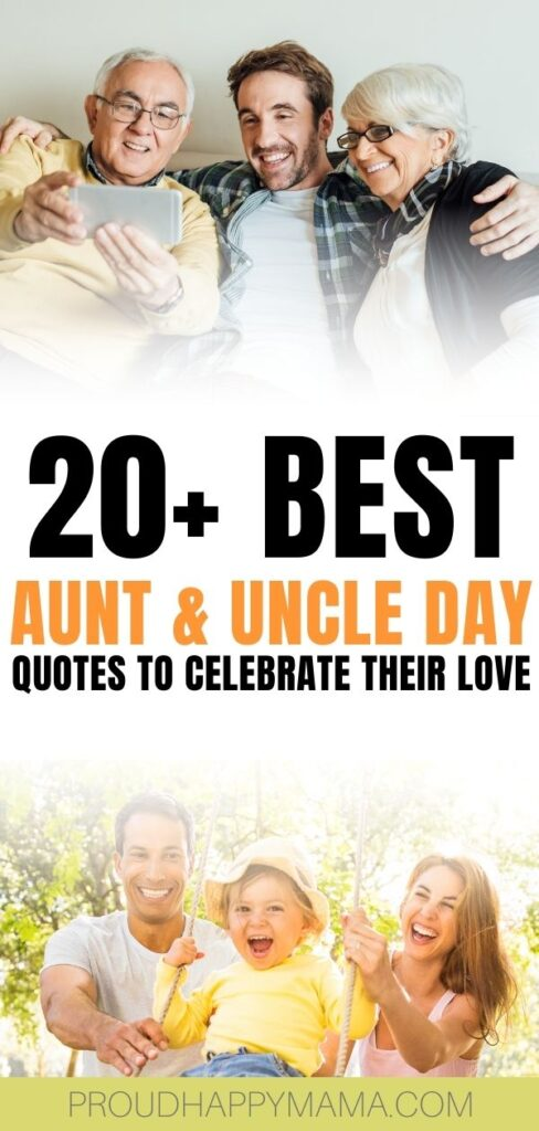 Best Aunt and Uncle Day Quotes - Post Pin