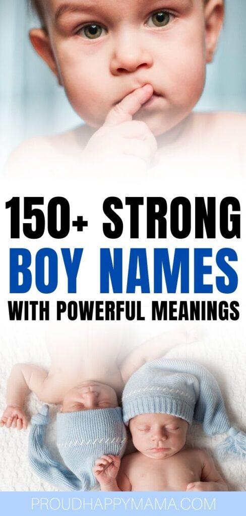 Boy Names That Mean Brave