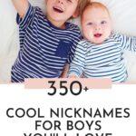 Cool Nicknames For Boys